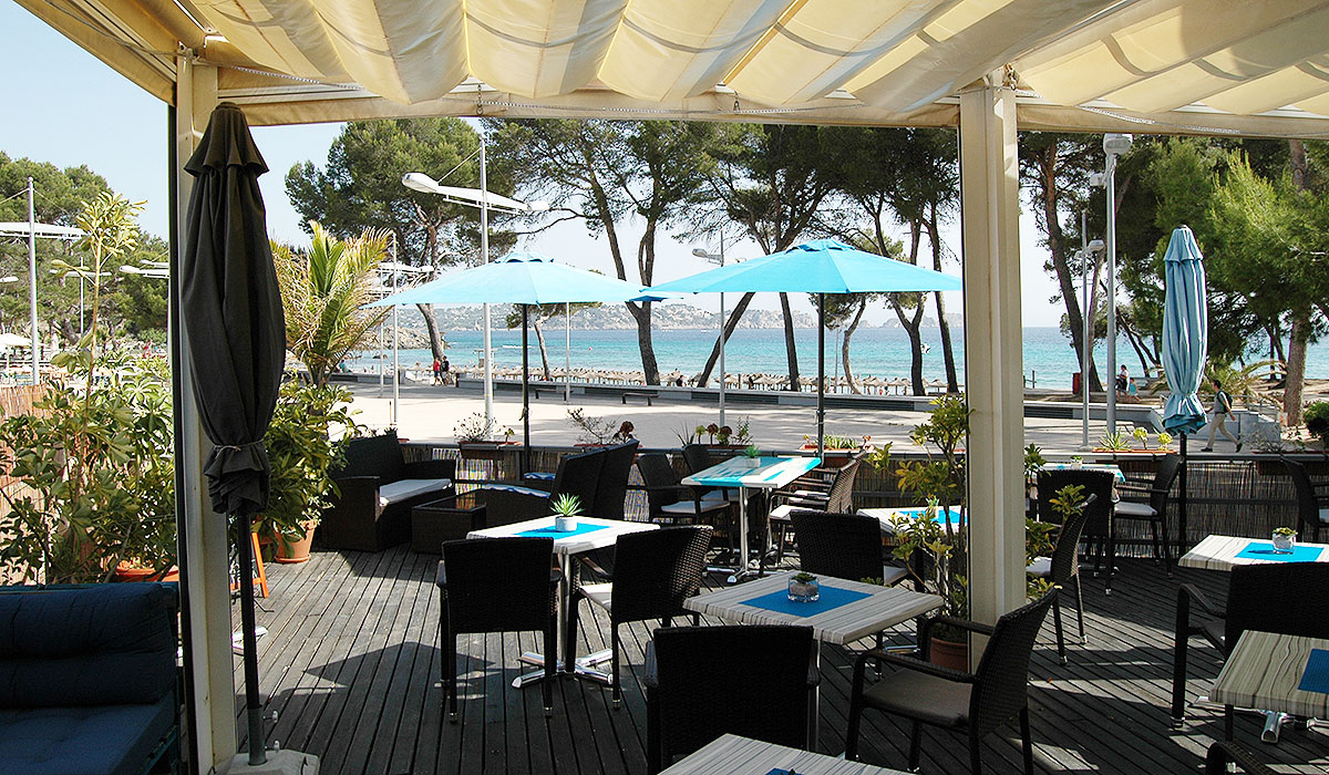Wonderful Café with best seaview to lease in Paguera – Mallorca