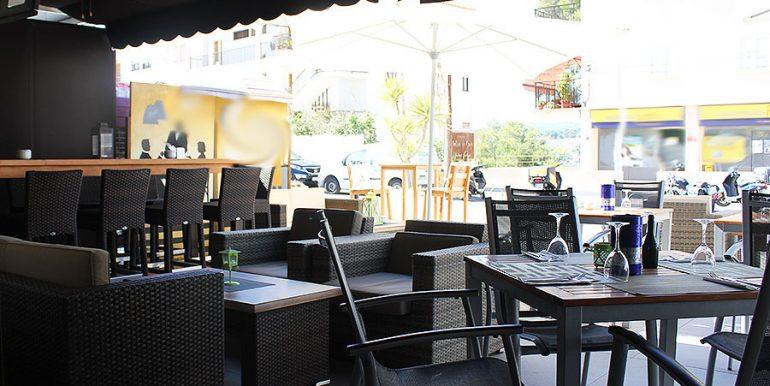 Bar Restaurant Cafeteria for Traspaso in Santa Ponsa Mallorca-santa-ponsa-terrasse-2