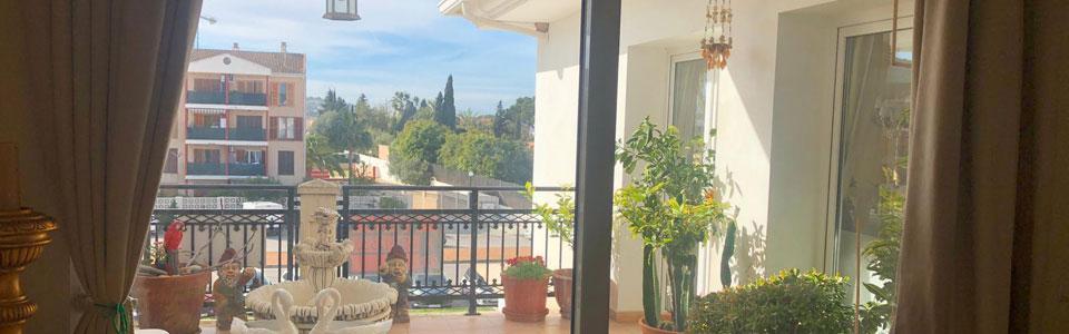 Schöne Penthouse Wohnungen in Herzen von Santa Ponsa