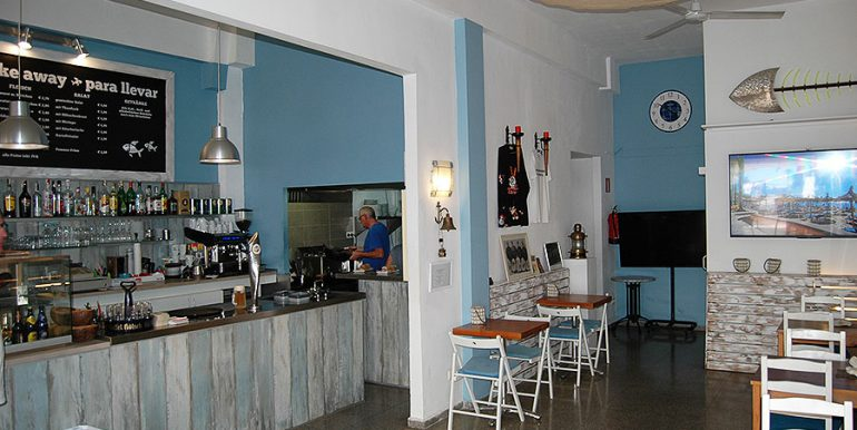 sale bistro bar cafe take away snack bar paguera mallorca